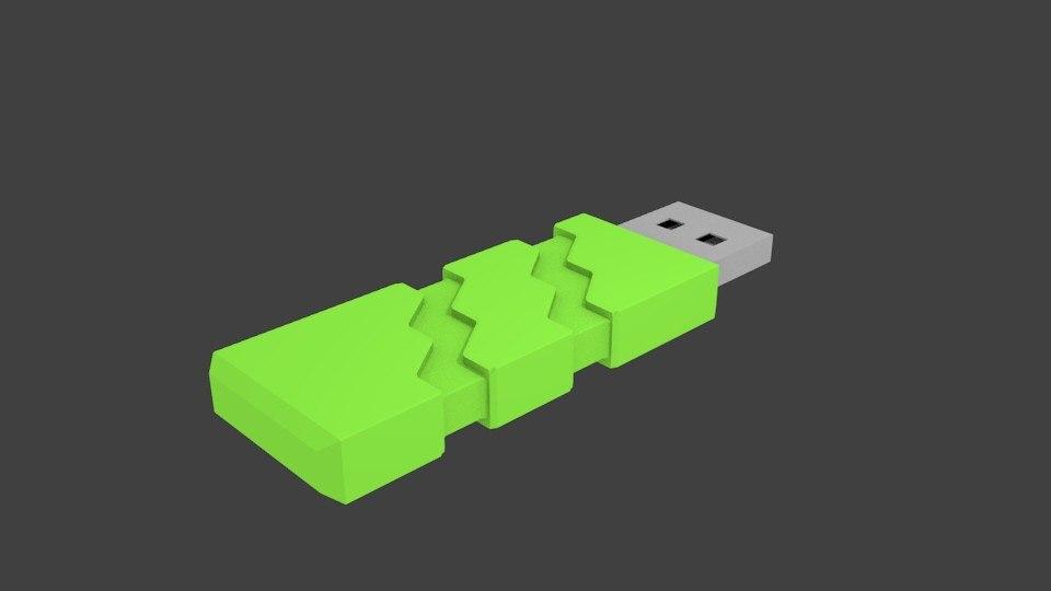 pen drive memoria usb 3D model