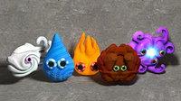 elemental puppets 3D