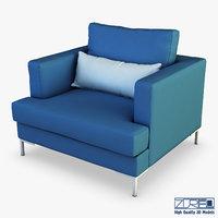 karea armchair 3D model