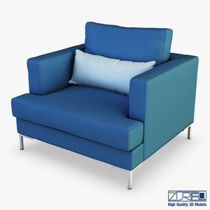 karea armchair 3D model