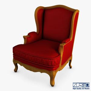 3D fontaine pr2732-407 armchair