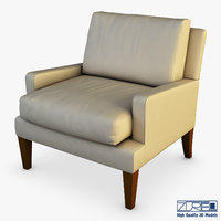 corsa armchair 3D model