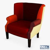 3D casis armchair