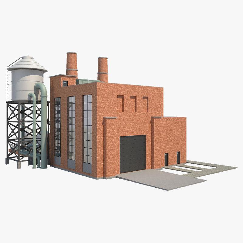 factory building model