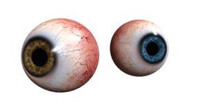 3D eye pupil