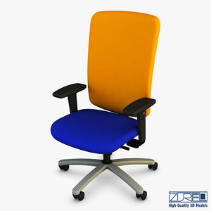 3D model exori office chair