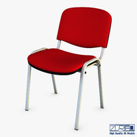 3D iso chair model