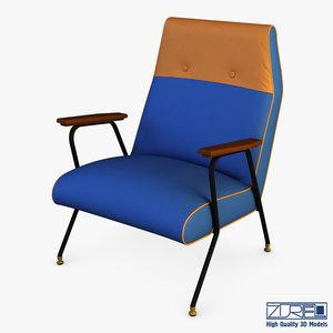 midnight ikat chair model