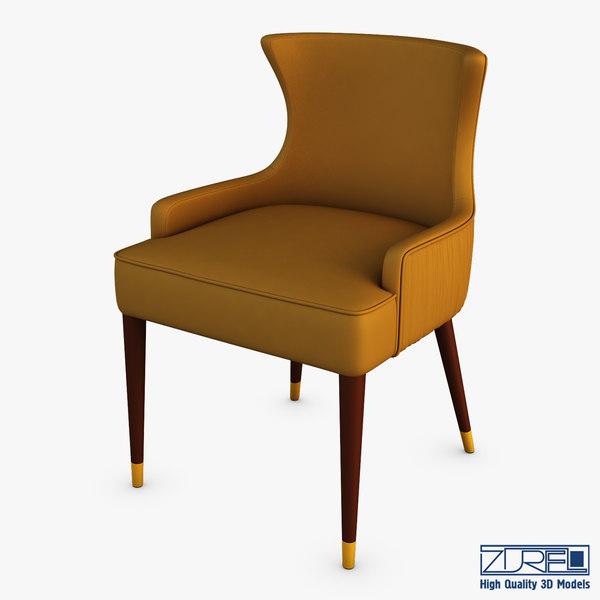gardner dining chair 3D