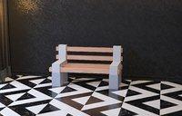 brick chair