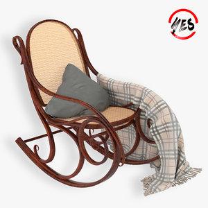 viennese rocking chair model