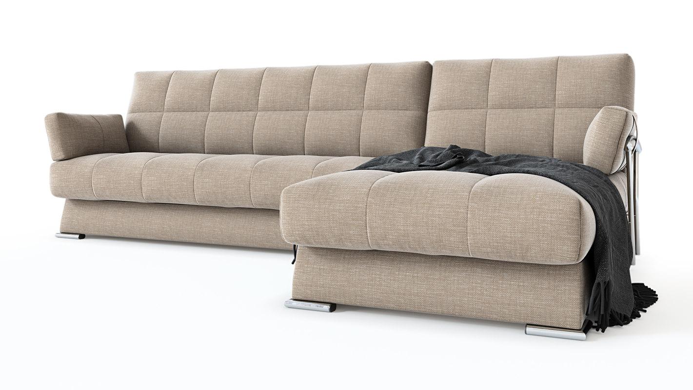 3D corner sofa dudinka