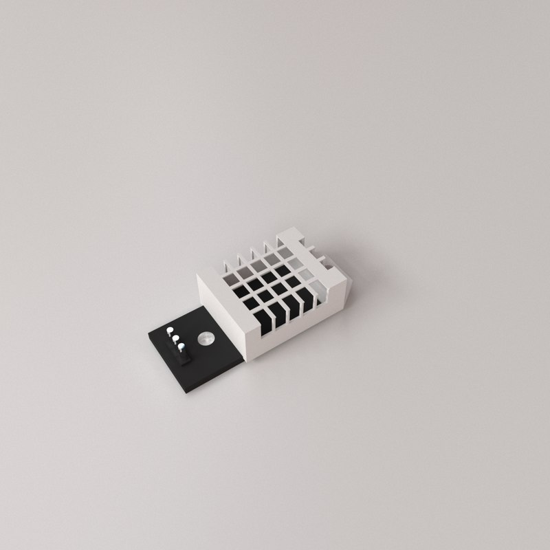 dht22 sensor 3D