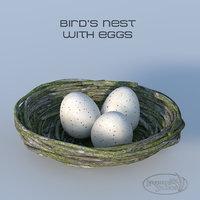 bird s nest 3D model