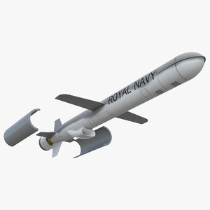 3D bgm-109c block iii tomahawk