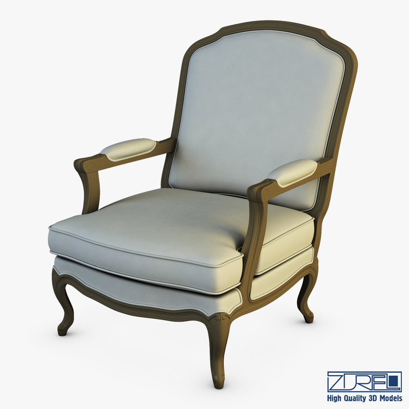 boka armchair 3D model