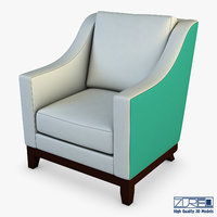 3D lounge chair 301