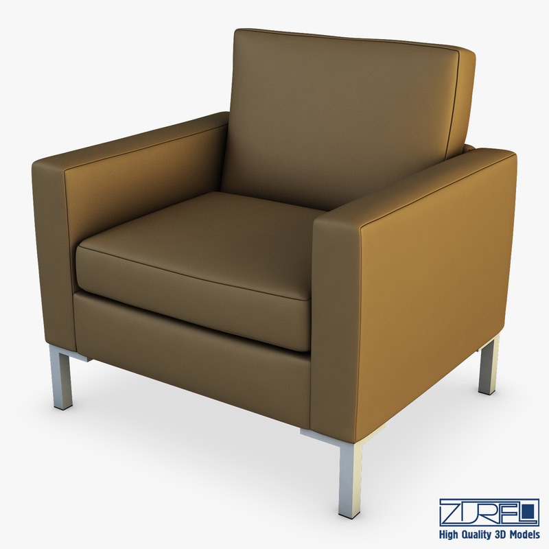 lounge chair 268 3D