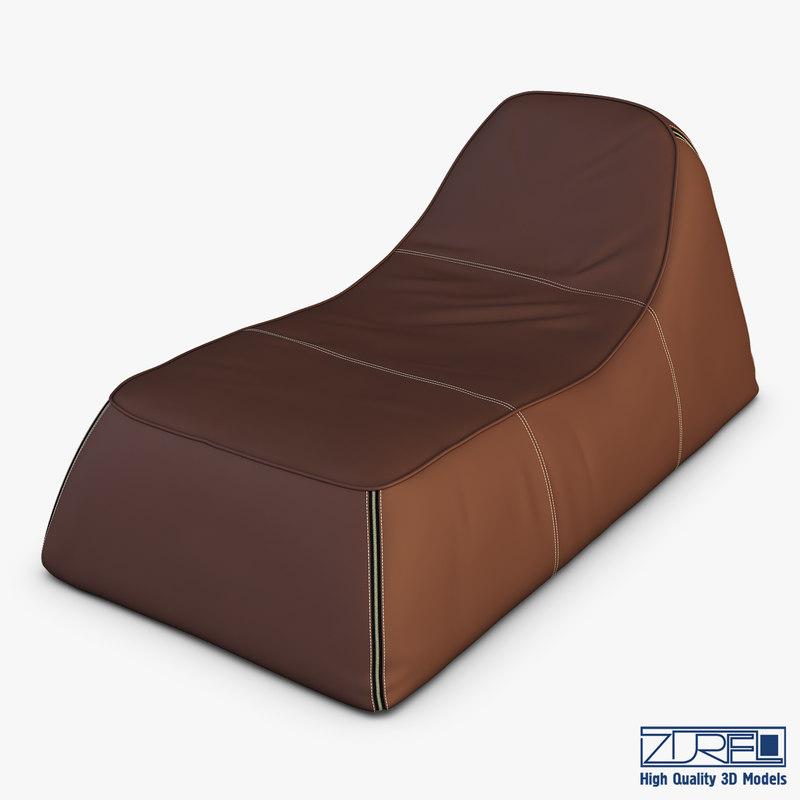ch chaise 3D model