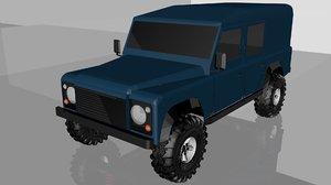 landrover defender 110 model