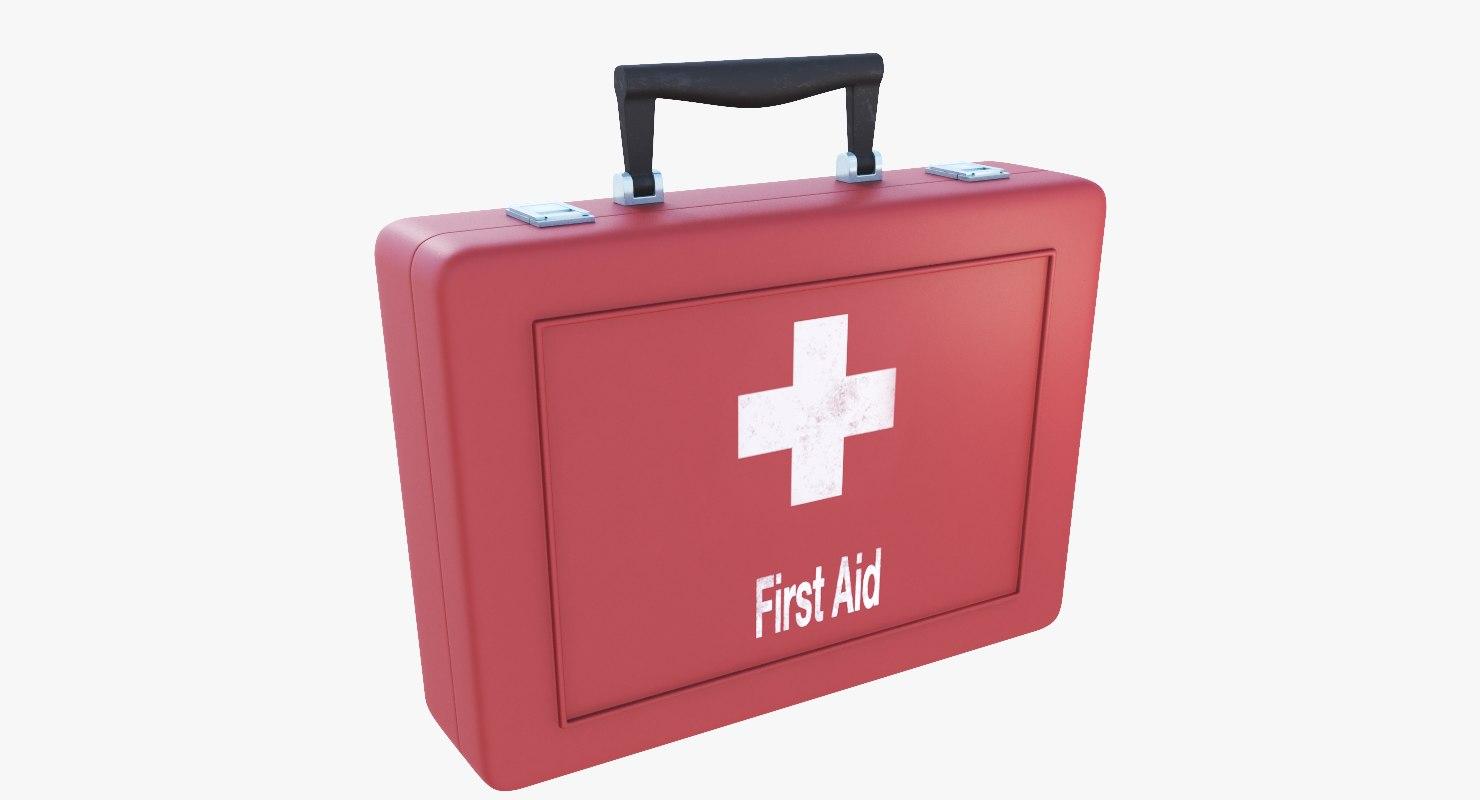 3D model medical kit
