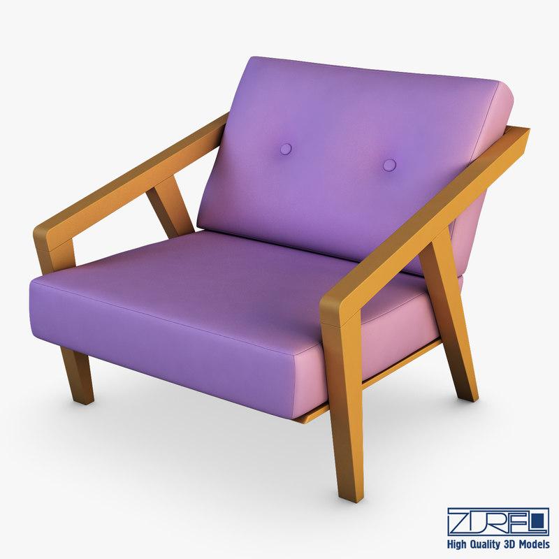 gerand chair 3D model