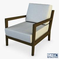 joplin chair 3D model