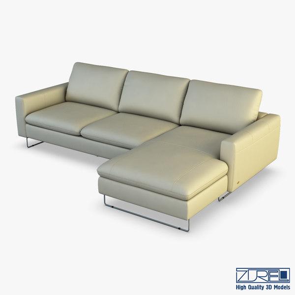u116 sofa 3D model