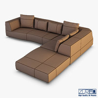 iddesign bend sofa 3D