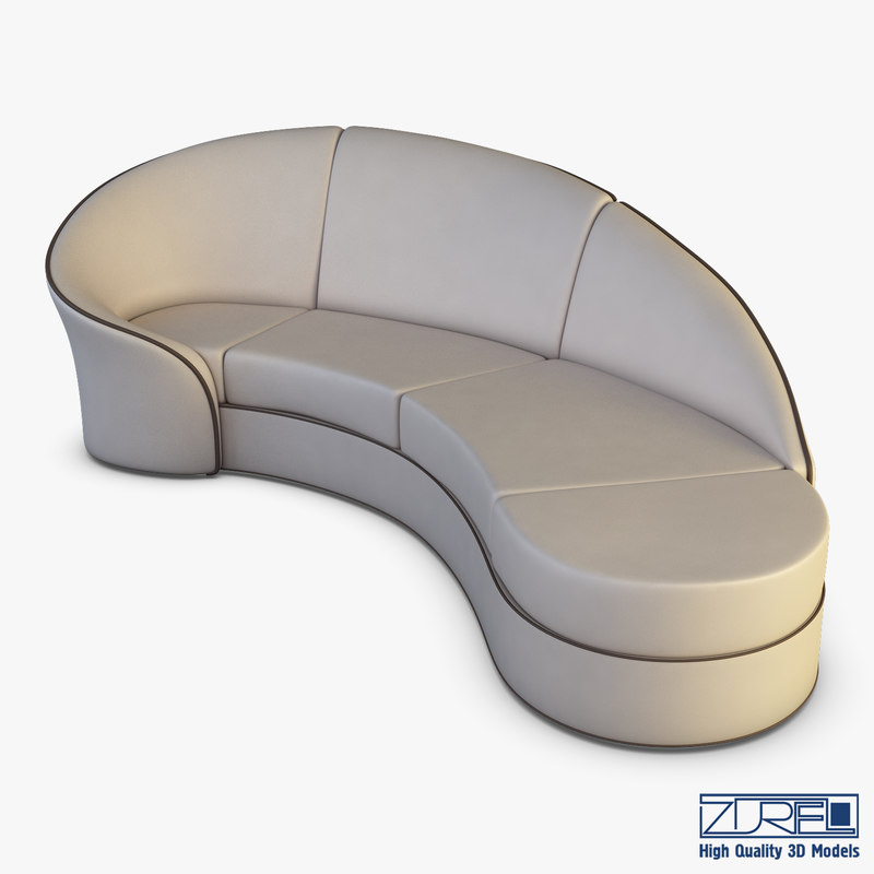 milky way sofa 3D model