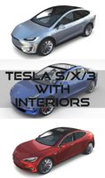 2017 Tesla S-X-3 Collection w interior