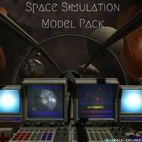 3D pack space simulation