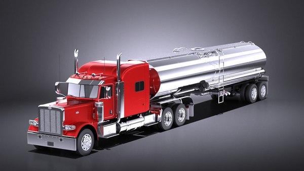 cab 2017 tanker 3D model