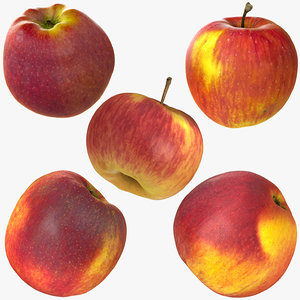 apple realistic 3D model