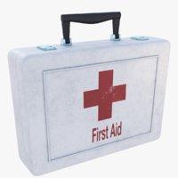 3D medical kit model