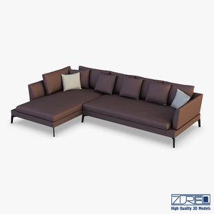 diva sofa 3D model