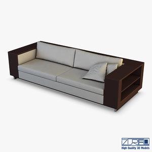 3D ics gran sofa