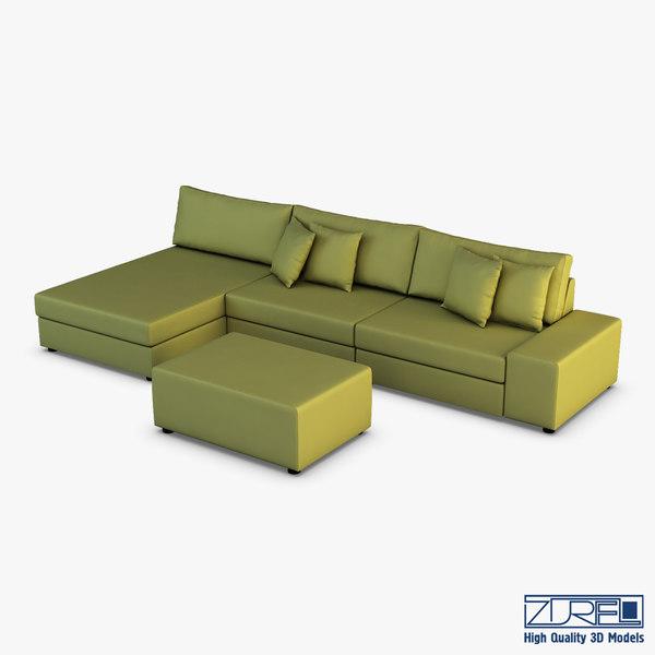 casio sofa 3D model