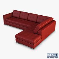 u093 sofa 3D model