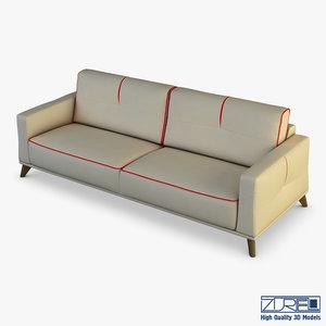 3D valencia sofa