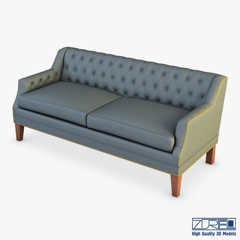 3D model mccartney hollywood sofa