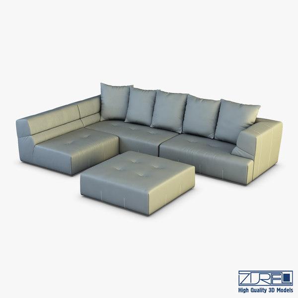 3D mercury sofa model
