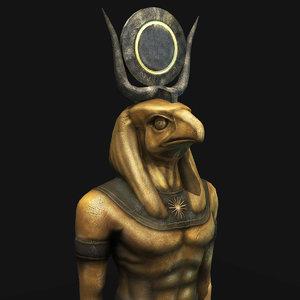 horus statue 3D model