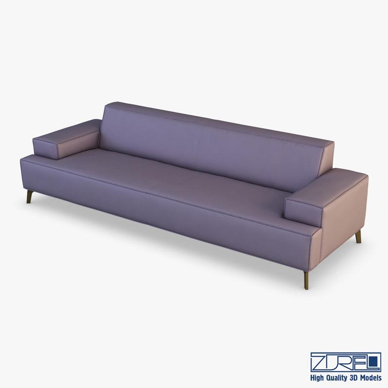 mico sofa 3D model