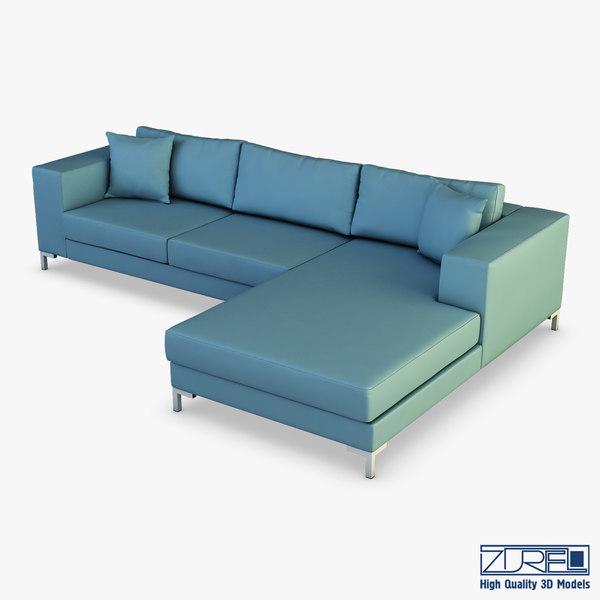 3D solo sofa