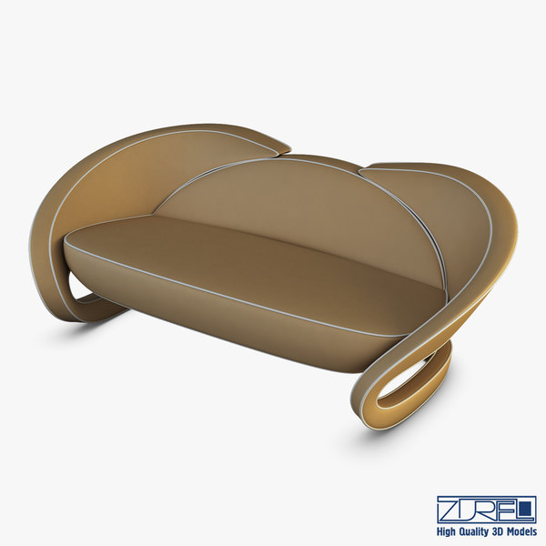 3D metamorphosis sofa model
