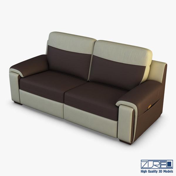 u170 sofa v 1 3D model