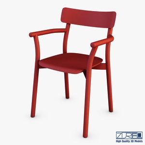 mattiazzi chiaro armchair 3D model