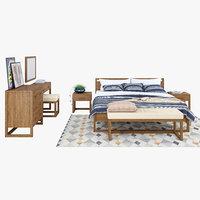 3D bedroom anna