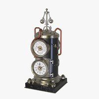 Vertical Boiler Clock